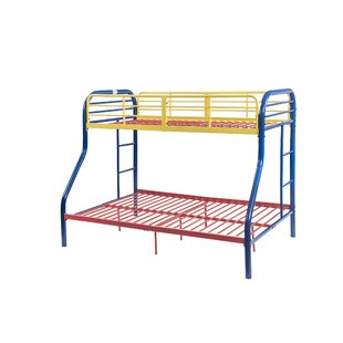Hallum Twin Over Full Bunk Bed by Zoomie Kids