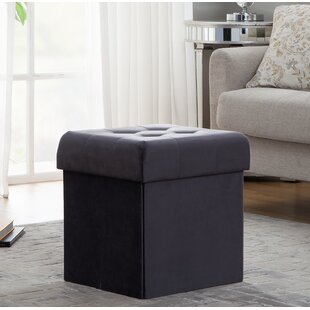 Minter Foldable Tufted Storage Ottoman by House of Hampton