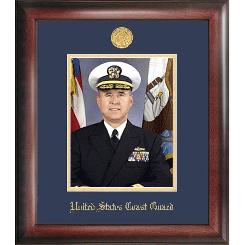 Patf Coast Guard Portrait Picture Frame Wayfair