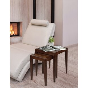 Remus 2 Piece Nesting Table by Charlton Home