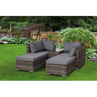 Gina Double Sun Lounger With Cushion By Sol 72 Outdoor