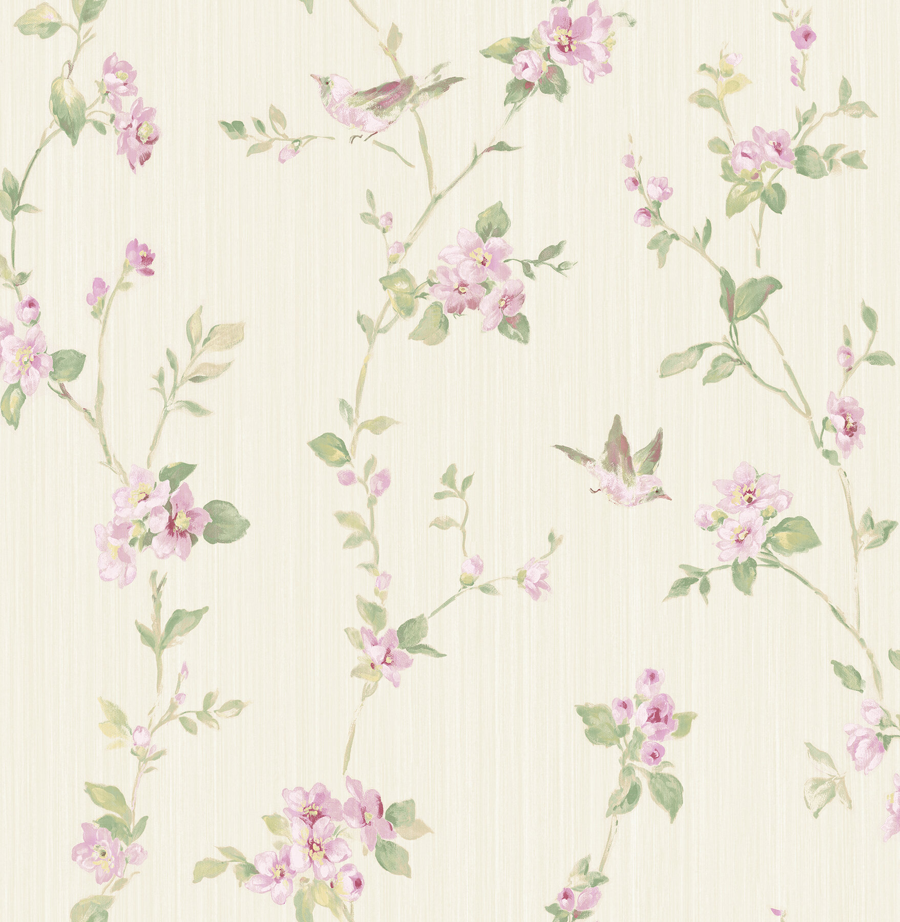 Ophelia Co Dichiera Floral Scroll 33 L X 20 5 W Wallpaper