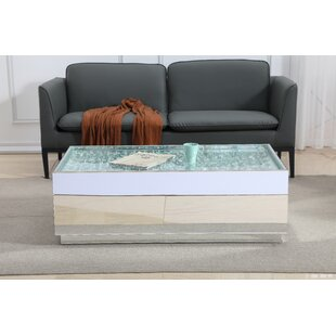 Guillermo Crystal Coffee Table