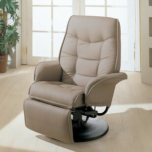 Voorhies Manual Swivel Recliner