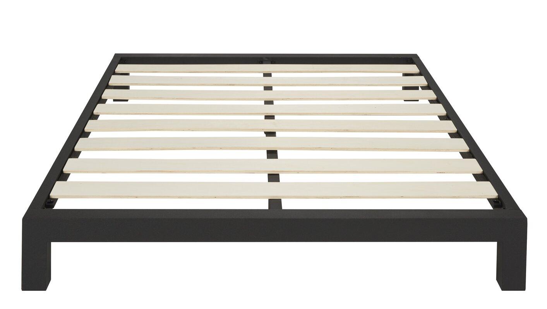 Platform Bed Frames Metal in style furnishings stella platform bed & reviews | wayfair