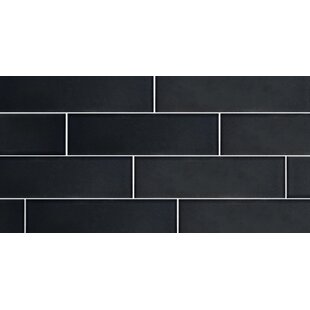 Secret Dimensions 3 X 12 Gl Subway Tile In Frosted Dark Gray