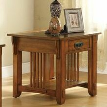 Aretha Traditional End Table by Red Barrel Studio