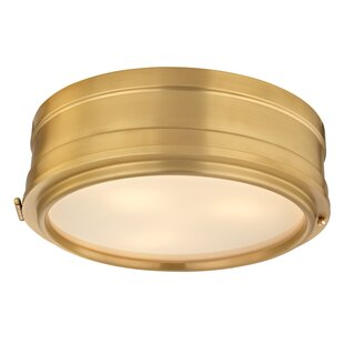 Gracie Oaks Kamini 3-Light Flush Mount
