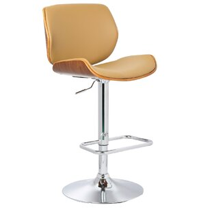 Where buy  Adjustable Height Swivel Bar Stool by Porthos Home Reviews (2019) & Buyer's Guide