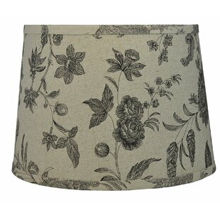 French 12 Linen Drum Lamp Shade
