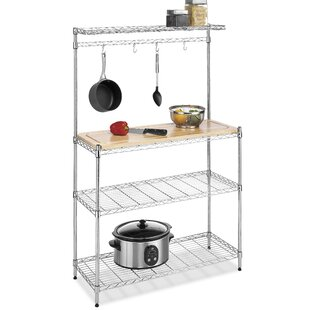 Whitmor, Inc Chrome Baker's Rack