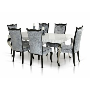 Maire 7 Piece Dining Set Willa Arlo Interiors