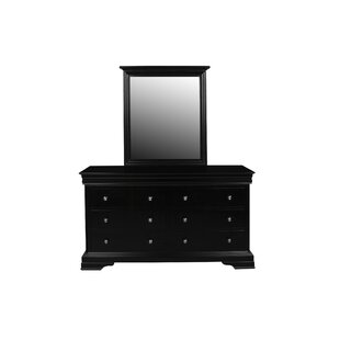 Jamel 6 Drawer Double Dresser