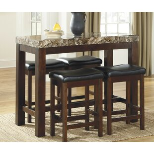Fossil 5 Piece Dining Set by Global Trading Unlimited Today Only Sale