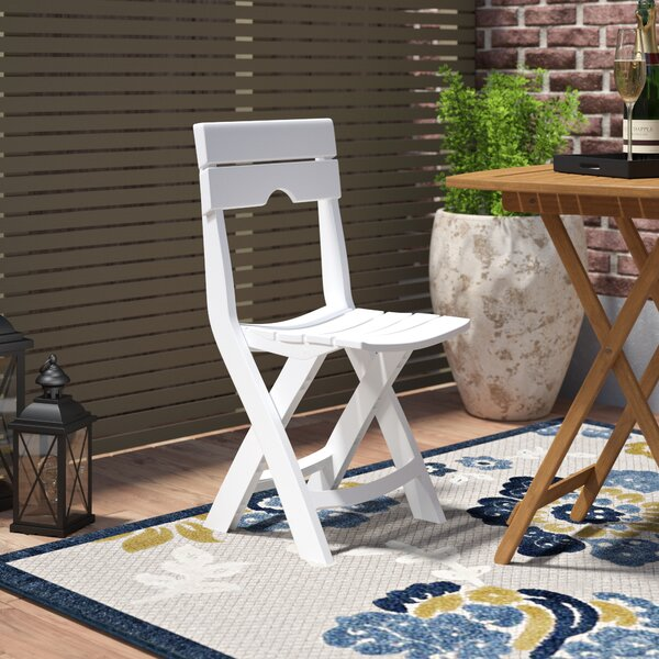 Magnificent Outdoor Folding Bistro Chairs Wayfair Evergreenethics Interior Chair Design Evergreenethicsorg