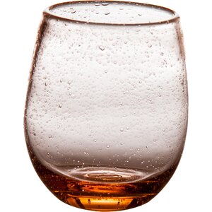 Tutti Frutti Bubble 16 Oz. Stemless Wine Glass (Set of 4)