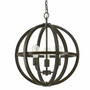 Laoise 3-Lighted Globe Chandelier
