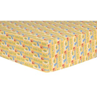 Comparison One Fish, Two Fish Fitted Crib Sheet ByTrend Lab
