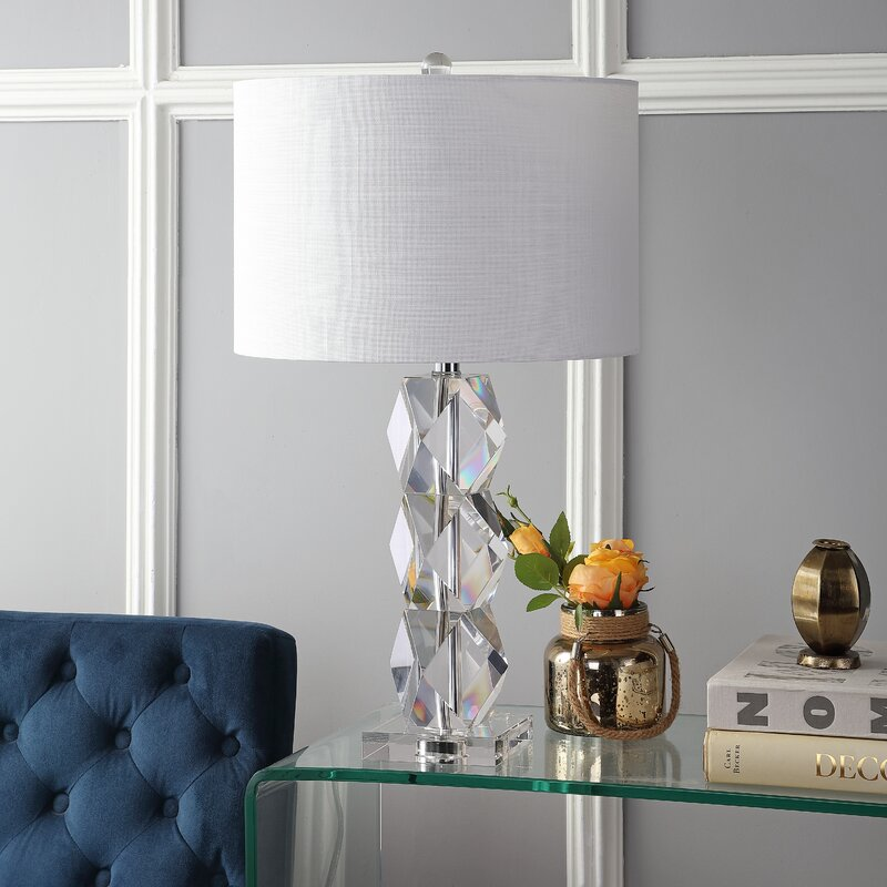 Gorgeous crystal lamp