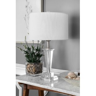 House of Hampton Delane Crystal and Iron Linen Shade 22