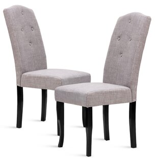 Red Barrel Studio Lipscomb Upholstered Dining Chair (Set of 2)
