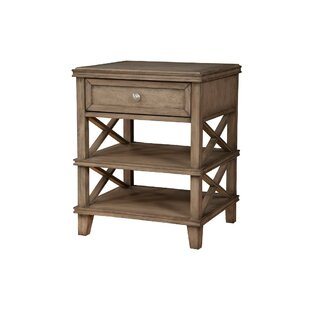 Stocker French Truffle 1 Drawer Nightstand