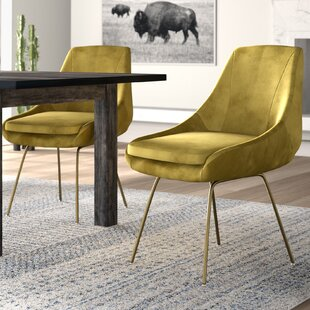 Vanves Upholstered Dining Chair by Mistana Bargain
