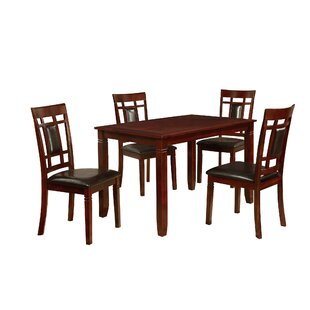 Patrick 5 Piece Dining Set DarHome Co