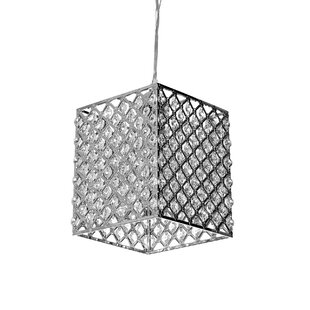 Britain 1-Light Square/Rectangle Pendant by House of Hampton