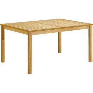 Myres Dining Table by Beachcrest Home No Copoun