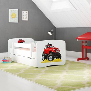 Review Celaya Convertible Toddler Bed With Drawer
