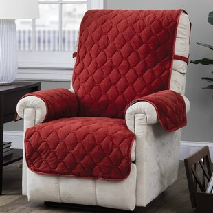 Quilt Stitch With Straps T-Cushion Recliner Slipcover By Alcott Hill