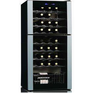 45 Bottle Dual Zone Freestanding Wine Cooler