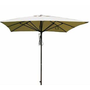 Alcott Hill Bronte Patio 8' x 8' Rectangular Market Umbrella