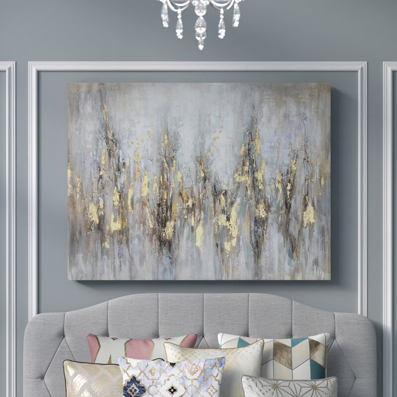Mercer41 Glowing From Afar Oil Painting Print On Wrapped Canvas Chandeliers Ceiling Fixtures Home Garden Studiogrammatica Com