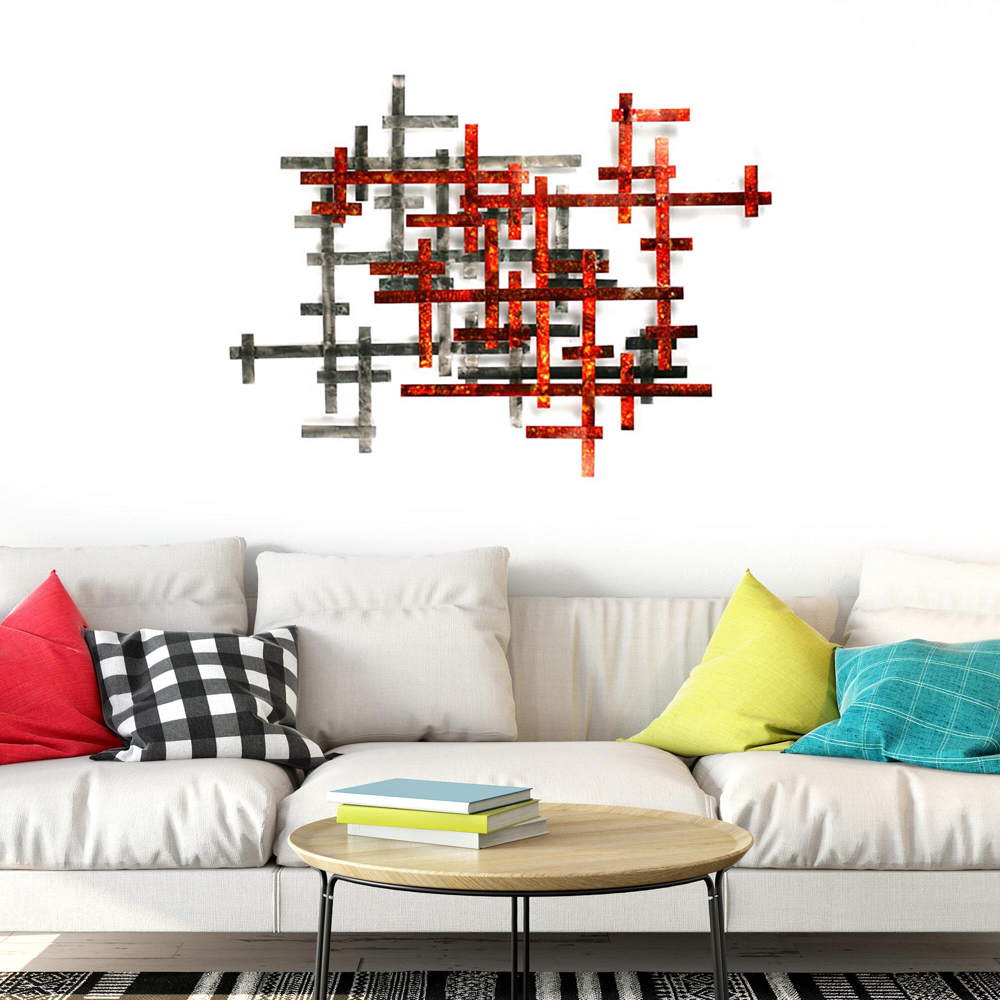 Ebern Designs Aesthetic Metal Wall Decor
