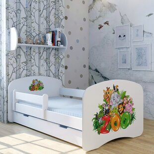 Zoo Bed With Mattress And Drawer By Zoomie Kids