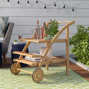 Laurel Foundry Modern Farmhouse Drachten Tea Serving Cart