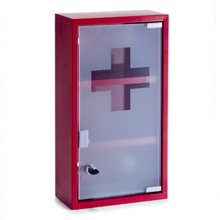 First Aid 25cm X 45cm Surface Mount Medicine Cabinet By Zeller