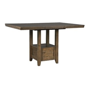 Fia Counter Height Drop Leaf Dining Table Millwood Pines