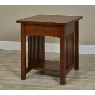 Affordable Linnea End Table by Millwood Pines
