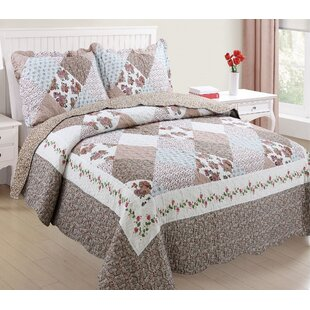 Mullaney Soft and Luxury Reversible Quilt Set