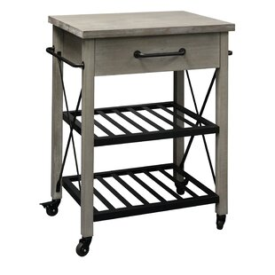 Sadler Rustic Kitchen Cart Union Rustic