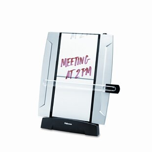 Fellowes Mfg. Co. Office Suites Freestanding Desktop Copyholder, 150 Sheet Capacity