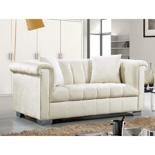 Henriette Chesterfield Loveseat