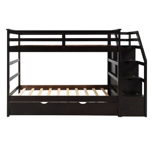 Raiford Twin over Twin Bunk Bed with Trundle by Harriet Bee