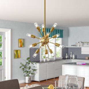 Wade Logan Blain 12-Light Sputnik Chandelier