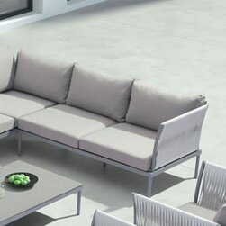 Alfaro Deep Seating Sofa with Cushions