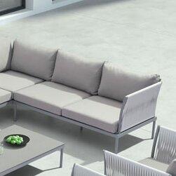 Alfaro Deep Seating Sofa with Cushions
