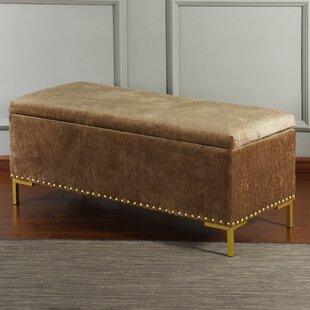 Hurd Upholstered Storage Bench